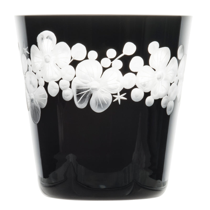 Tallulah Tipple Glass - Black
