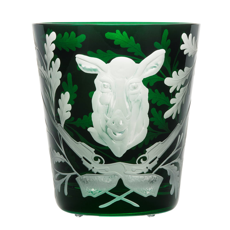 Ice Bucket - Wild Boar - British Racing Green