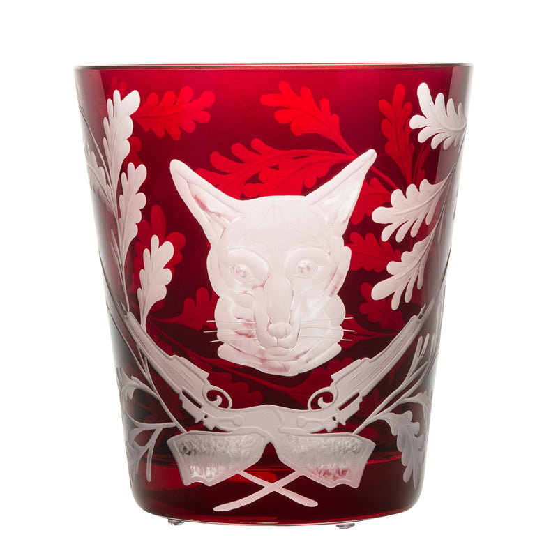 Ice Bucket - Fox - Ruby Red