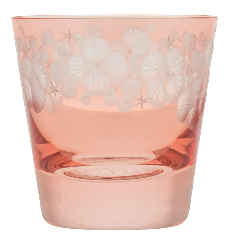 Tallulah Tipple Glass - Flamingo Pink