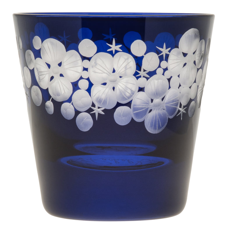 Tallulah Tipple Glass - Midnight Blue