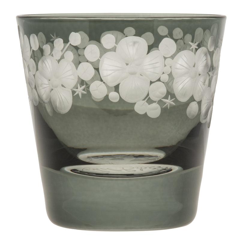 Tallulah Tipple Glass - Pewter Grey