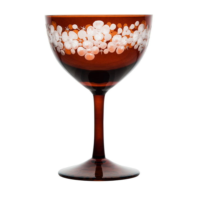 Cristobelle Champagne Saucer Toffee Brown