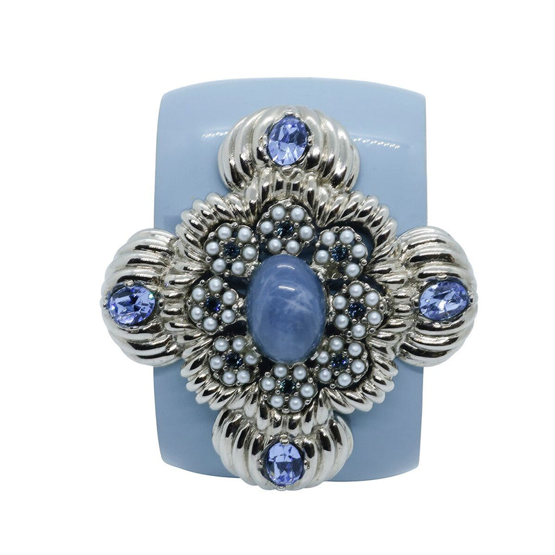 Lady Leonarda Cuff - Sky Blue - Order by 02.12.19 for Christmas Delivery