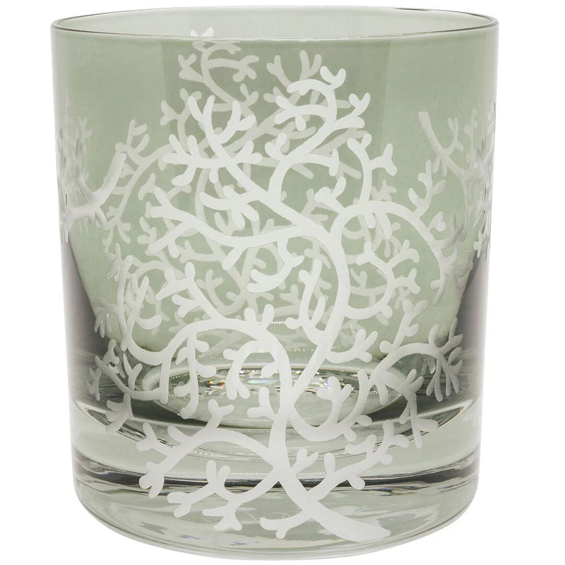 Moira Corali Double Old Fashioned Tumbler - Grey