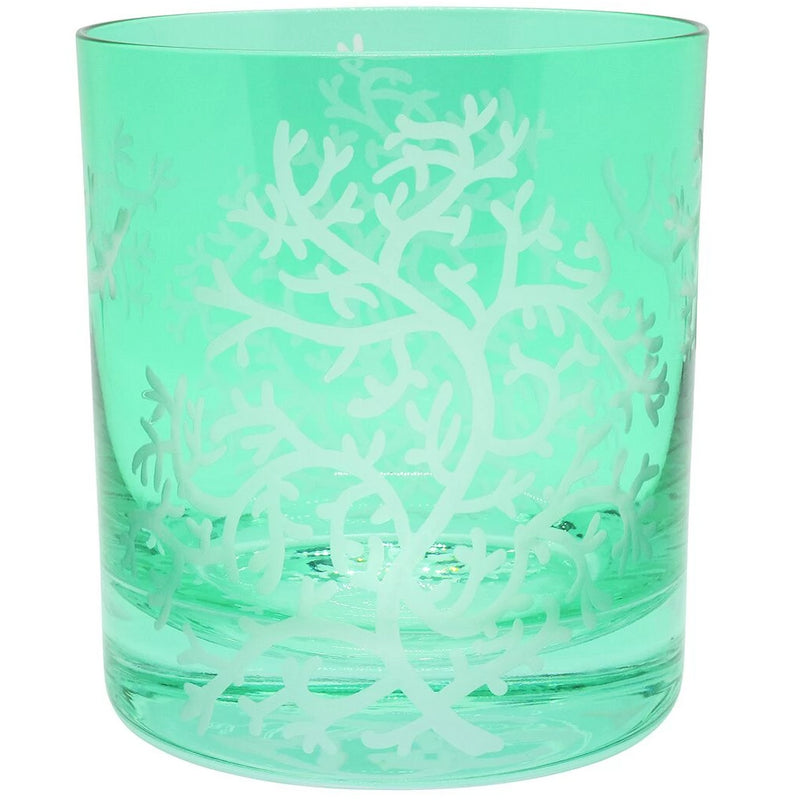 Moira Corali Double Old Fashioned Tumbler - Teal