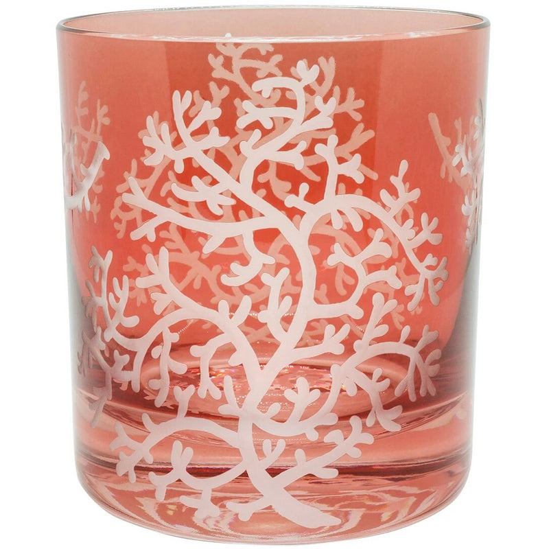 Moira Corali Double Old Fashioned Tumbler - Rose Pink