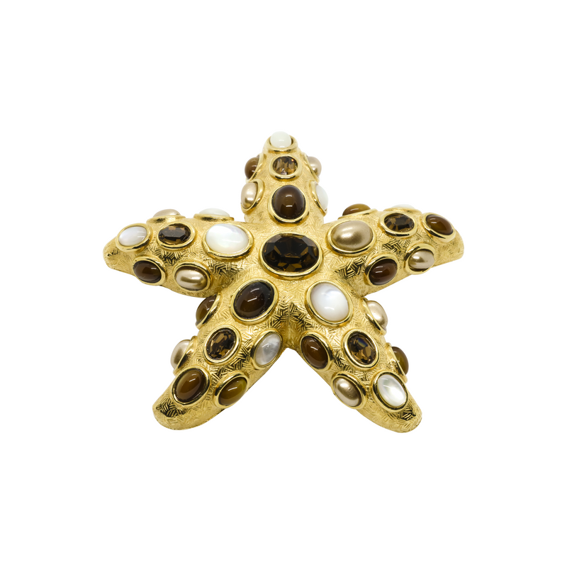 Meribella Sea Star Pin, Brooch, Pendant