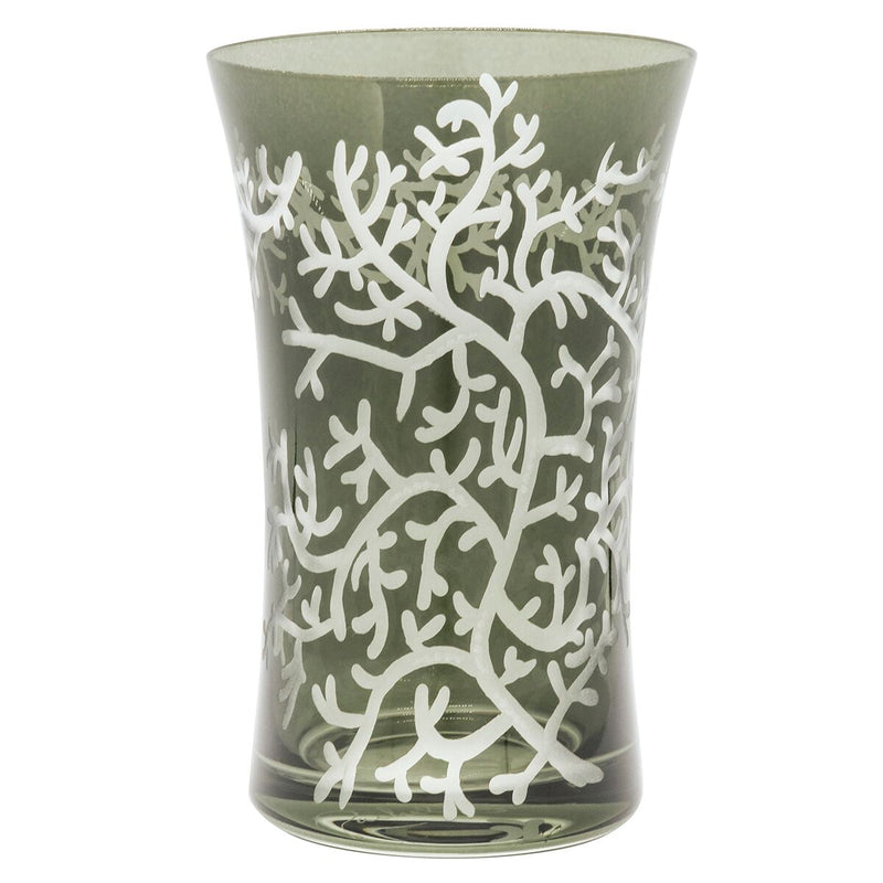 Charlotte Water Glass - Pewter Grey