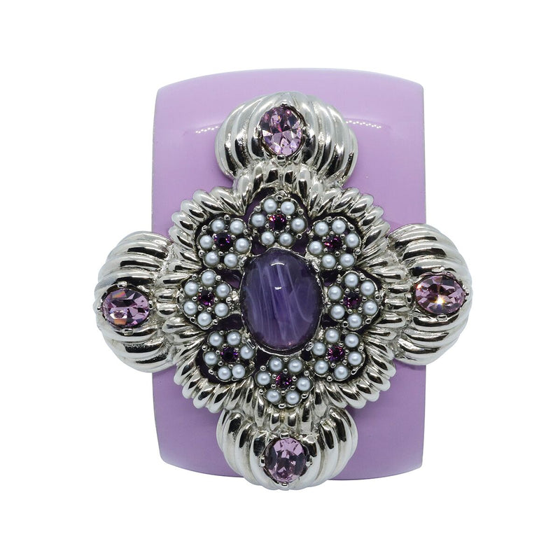 Lady Leonarda Cuff - Lavender Purple - Order by 02.12.19 for Christmas Delivery