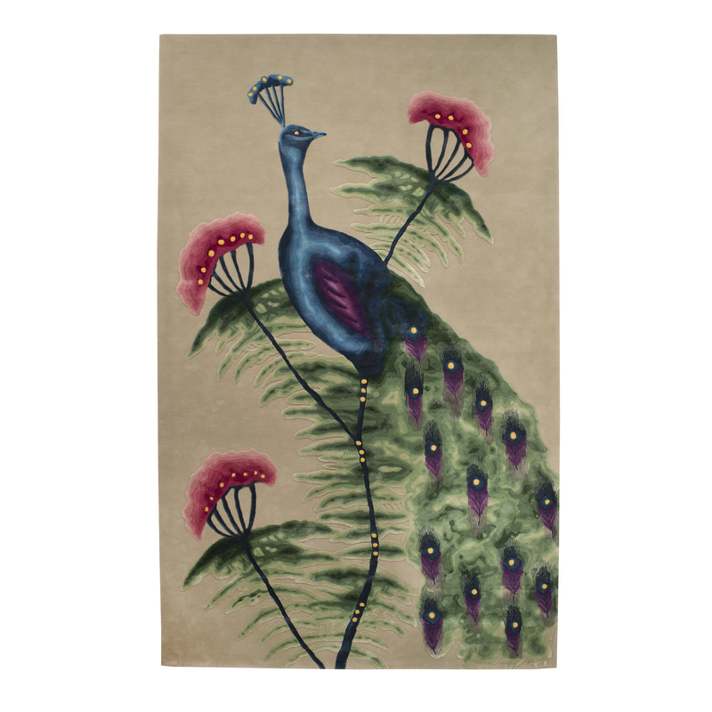 The Peacock Rug