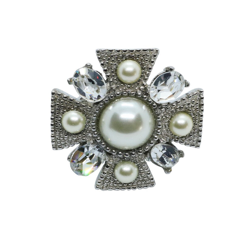 Lady Alessia Ring - Silver & Pearl - Order by 02.12.19 for Christmas Delivery