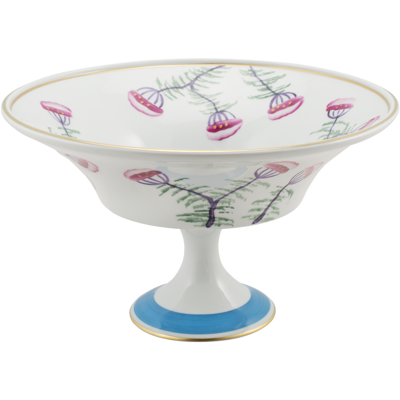 Blossom Fruit, Pudding, Decorative Bowl - Turquoise Blue