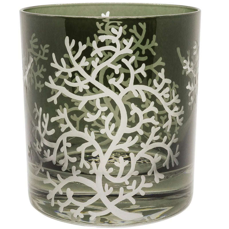 Moira Corali Double Old Fashioned Tumbler - Pewter Grey
