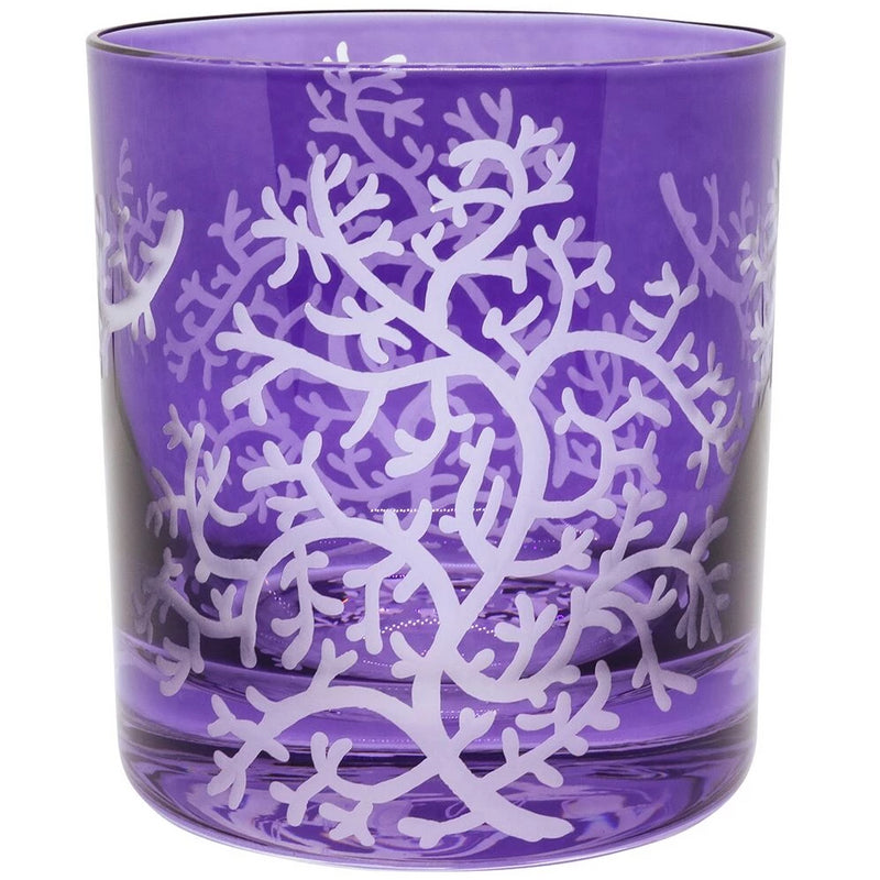 Moira Corali Double Old Fashioned Tumbler Ultra Violet