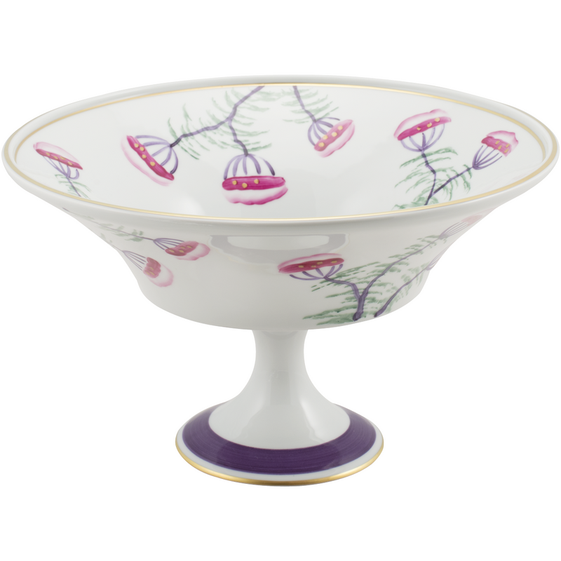 Blossom Fruit, Pudding, Decorative Bowl - Amethyst Purple