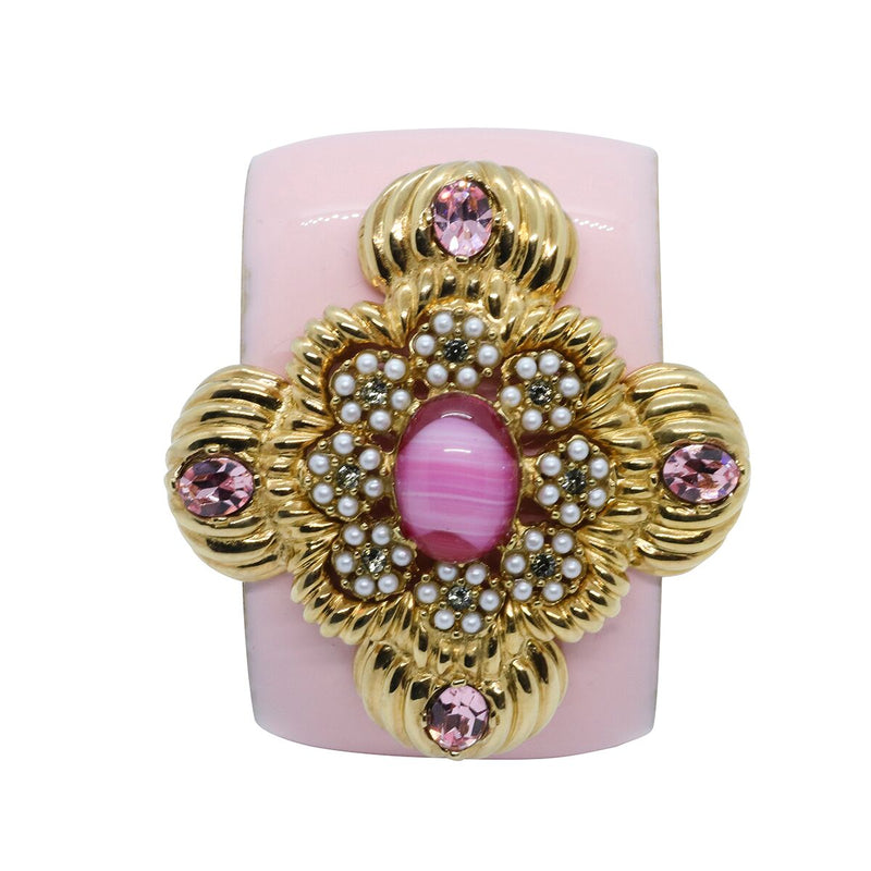 Lady Leonarda Cuff - Rose Pink - Order by 02.12.19 for Christmas Delivery