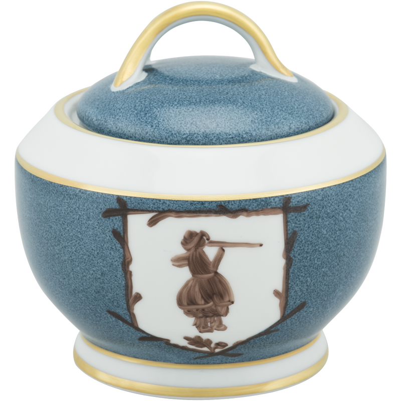 Saint Hubert Sugar Bowl - Gunshot Blue