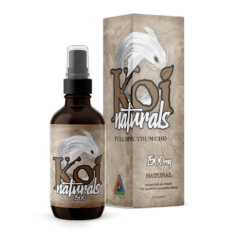 Koi Naturals Hemp Extract Spray | Natural Flavor