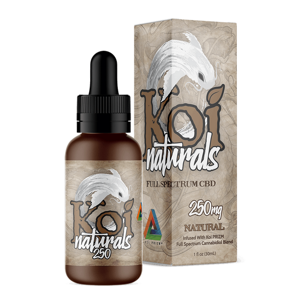 Koi Naturals Hemp Extract Tincture | Natural Flavor