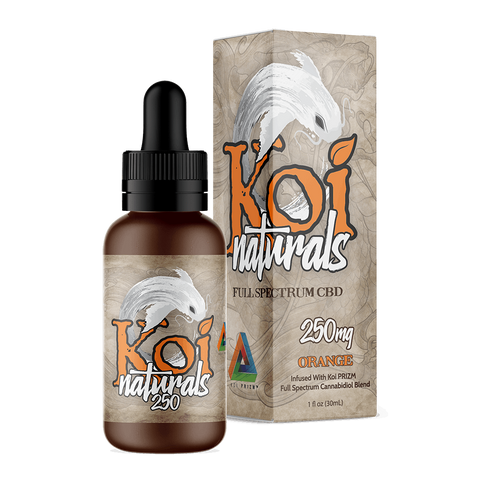 Koi Naturals Hemp Extract Tincture | Orange