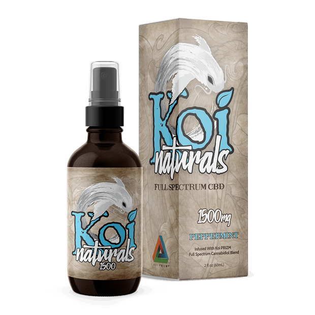 Koi Naturals Hemp Extract Spray | Peppermint