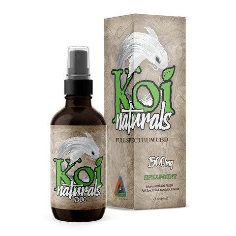 Koi Naturals Hemp Extract Spray | Spearmint