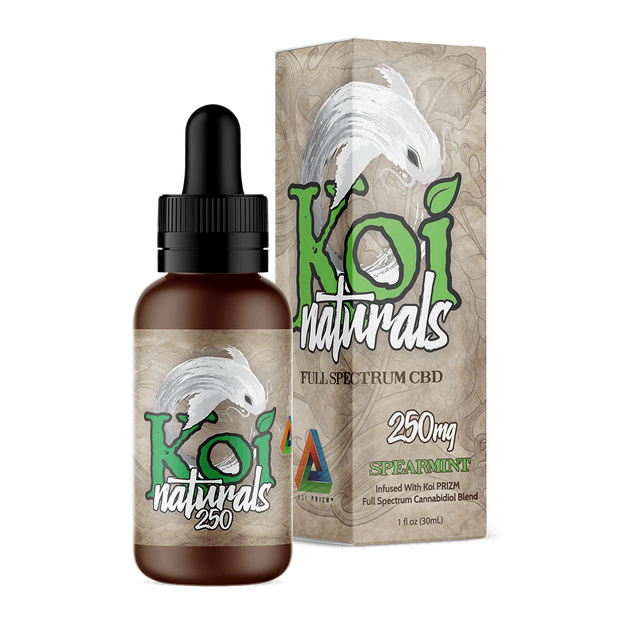 Koi Naturals Hemp Extract Tincture | Spearmint