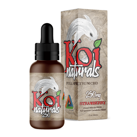 Koi Naturals Hemp Extract Tincture | Strawberry