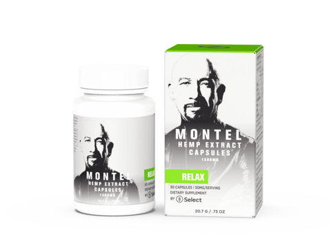 Relax – Montel by Select Capsules – 50mg ea.