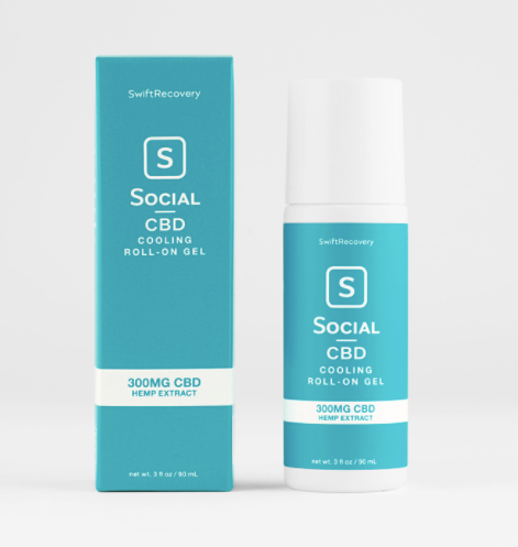 Social Cooling CBD Roll-On Gel