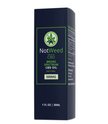 Not Weed CBD Oil- 500mg