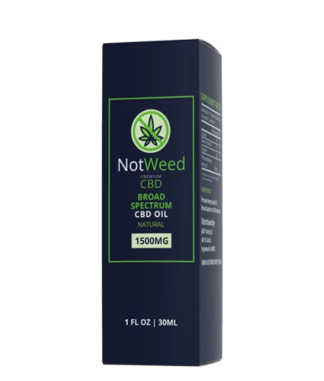 Not Weed CBD Oil- 1500mg