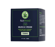 Not weed 4oz Muscle Cream