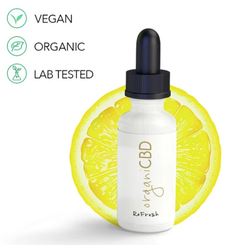 organiCBD™ Refresh: Lemon Drops - 1000mg