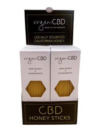 organiCBD™ CBD Honey Sticks - 150mg