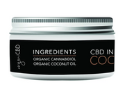 organiCBD™ Organic CBD Coconut Oil Rub - 500mg