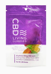 CBD Living Gummies - 10ct