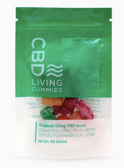 CBD Living Sour Gummies - 10ct