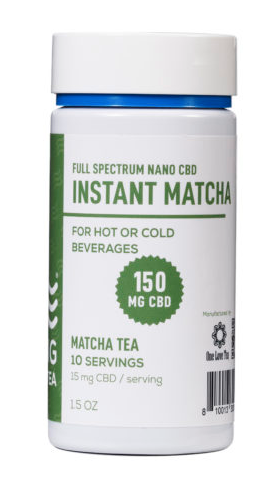 CBD Living Matcha Instant Green Tea