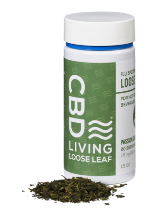 CBD Living Passion Green Tea
