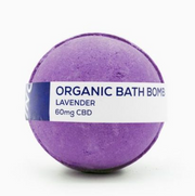 CBD Living Bath Bomb 60mg - Lavender
