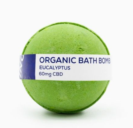 CBD Living Bath Bomb 60mg - Eucalyptus