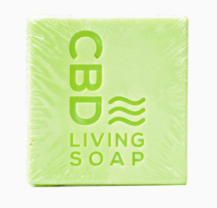 CBD Living Soap 60mg - Eucalyptus