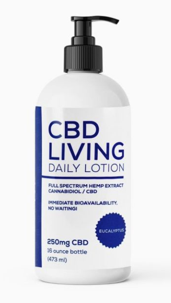CBD Living Lotion - Lavender 250mg