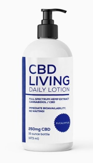 CBD Living Lotion - Eucalyptus 300mg