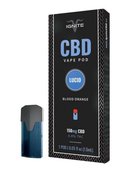 Ignite Blood Orange CBD Pod