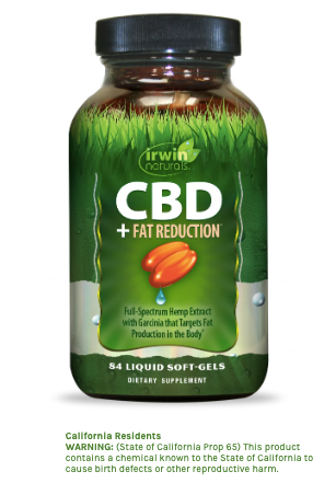 Irwin Naturals CBD +Fat Reduction - 84ct