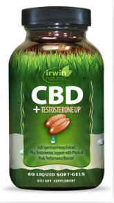 Irwin Naturals CBD +Testosterone UP® - 60ct