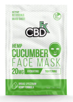 CBDfx - Cucumber Face Mask